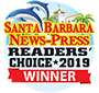 santa barbara reader's choice banner