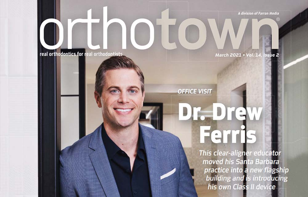 Dr. Drew Ferris Featured in March 2021 Issue of OrthoTown